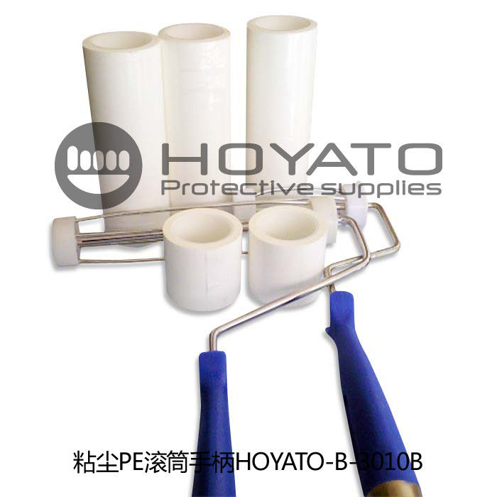Customized Cleanroom Sticky Roller Drum Shape For Home Furnishing Products